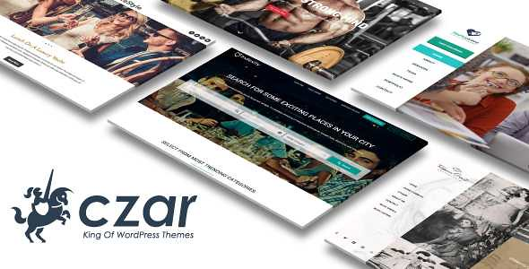 Czar WordPress Theme free download