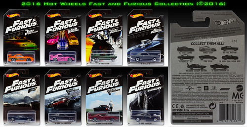 2016_Hot_Wheels_Fast_Furious_Collection