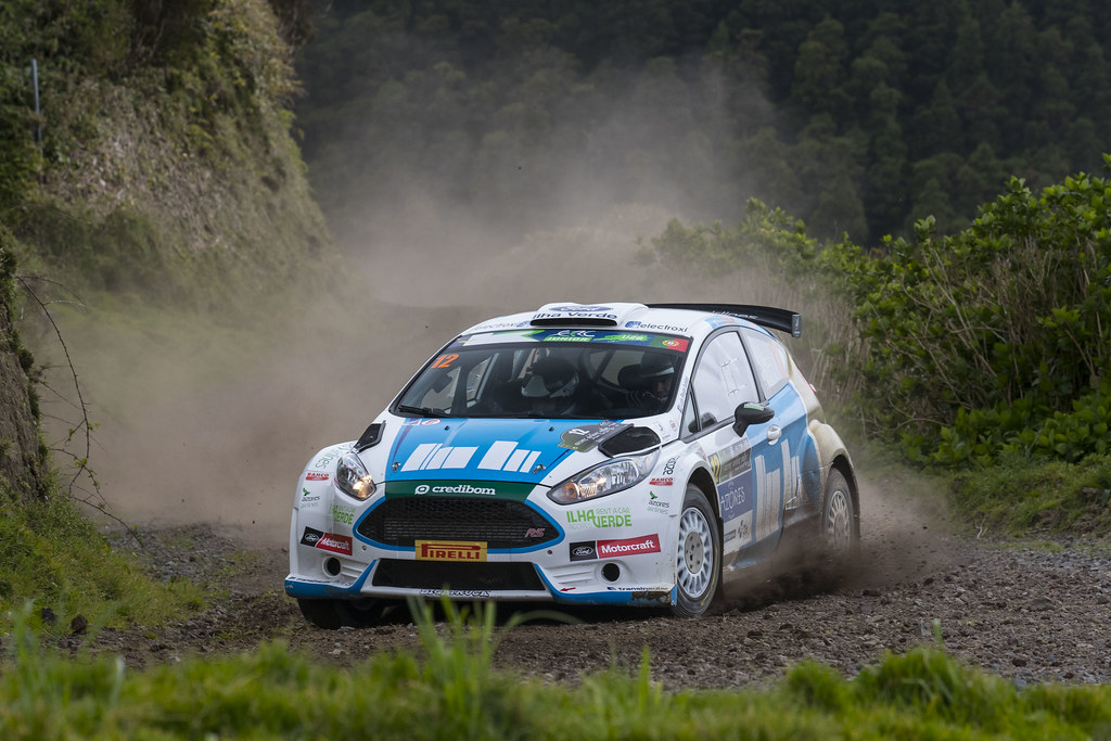 12 REGO Luis Miguel                 Ford Fiesta R5 Action during the 2017 European Rally Championship ERC Azores rally,  from March 30  to April 1, at Ponta Delgada Portugal - Photo Gregory Lenormand / DPPI