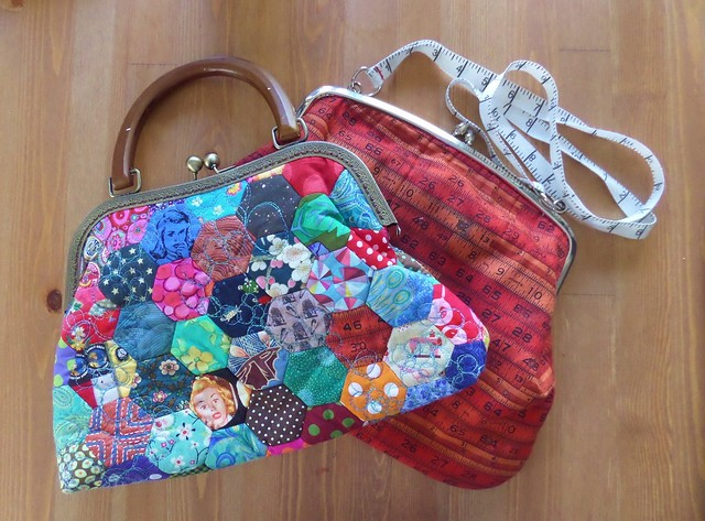 Two frame purse bags from my past