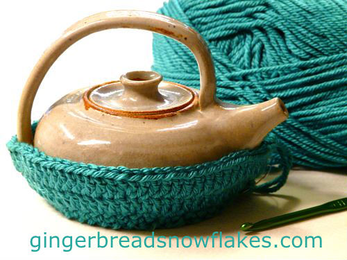 Crocheted Tea Pot Cozy
