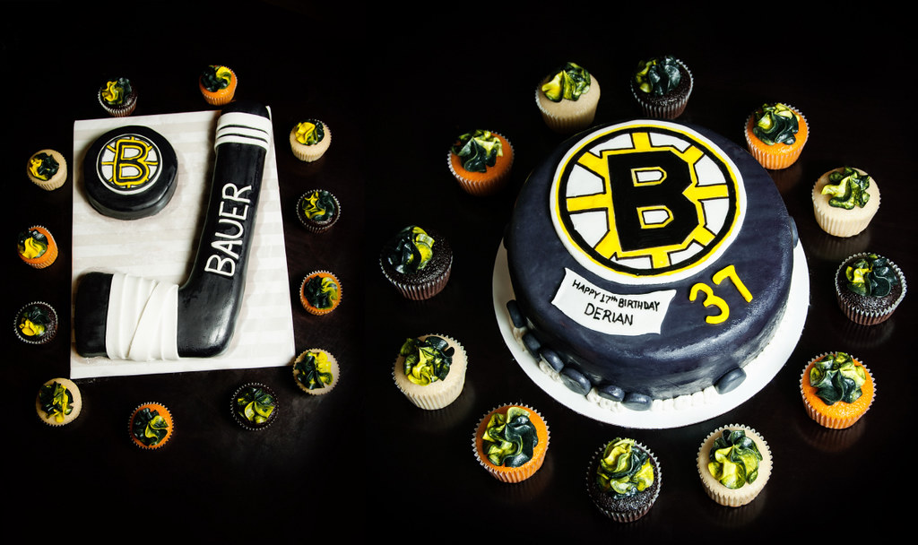 Boston Bruins Cakes