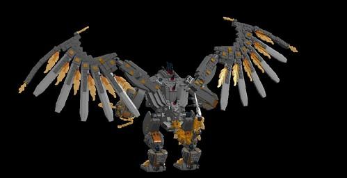 LEGO LDD MOC - Balrog 3