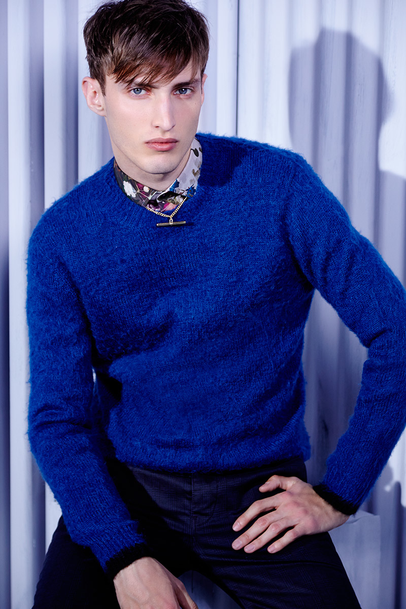 Charlie France0308_River Island's Fall Winter 2014 Lookbook(sight Management Studio)