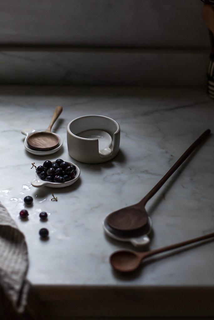 fringe & fettle ceramics x hackwith design house nesting spoons