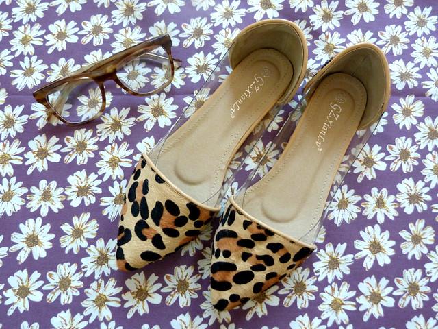 Polkadots and leopard print