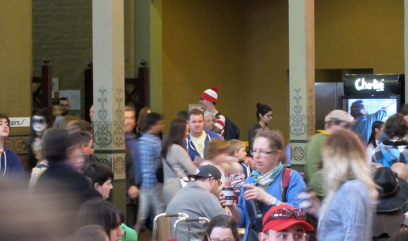 Where's Wally at OzComicon 2014