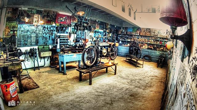 Taller - Museu de la Moto