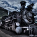 Train out of Silverton, Colorado
