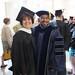 Marci commencement with Dr Pennington (advisor)