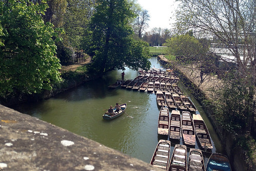 Boats in Oxford