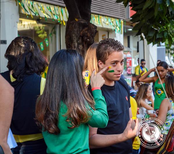 Face Paint Brazil World Cup 2014