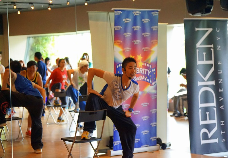 Celebrity Fitness Malaysia - Zumba Step and Zumba Sentao