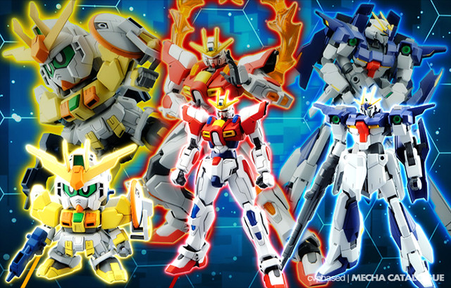 """Gundam Build Fighters Try"" Gunpla Revealed"