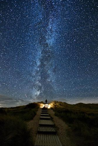 My God, it's full of stars