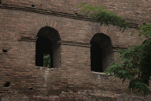particolare delle antiche mura