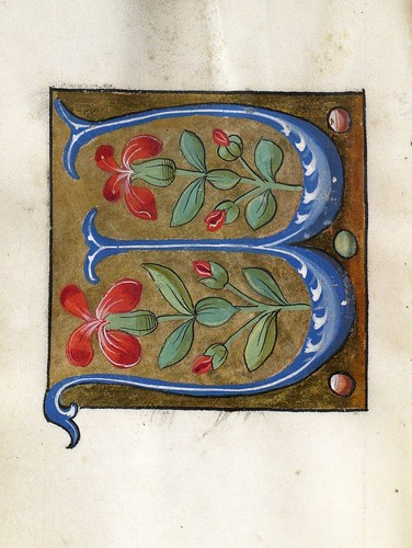 001-Leaf from Alphabet Book- The Art Walters Museum