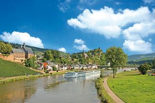 Crucero romántico por el valle del Rhin.