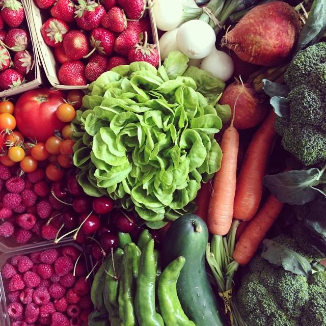 #greencitymarket haul