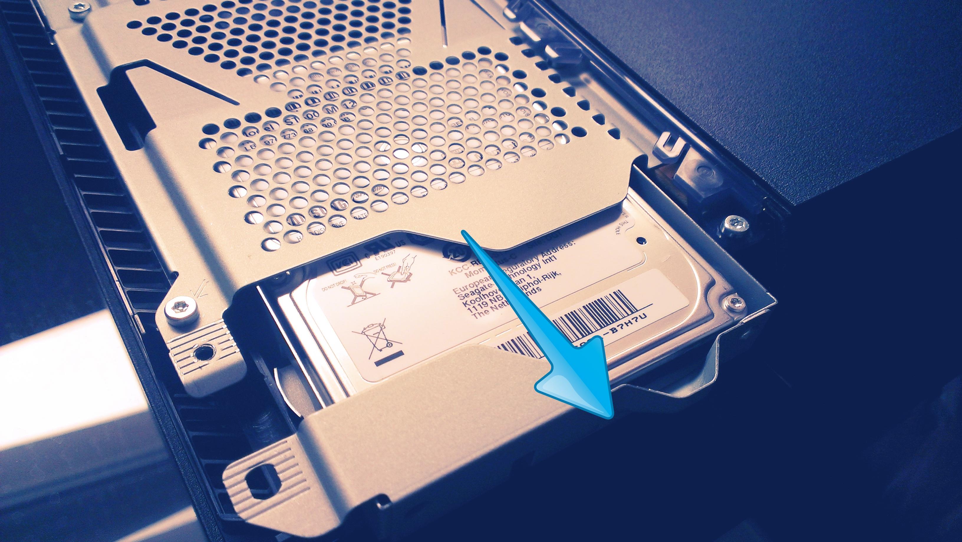 SSD einbau