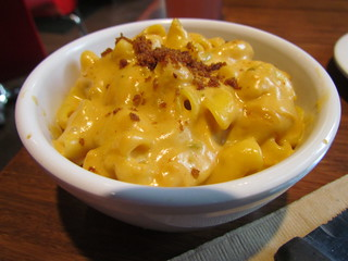 Mac and Cheese at Veggie Grill