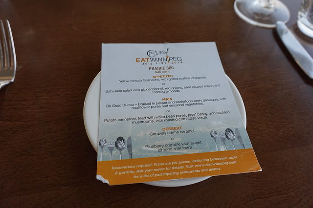 Prairie 360 - Ciao! Winnipeg Vegan Menu