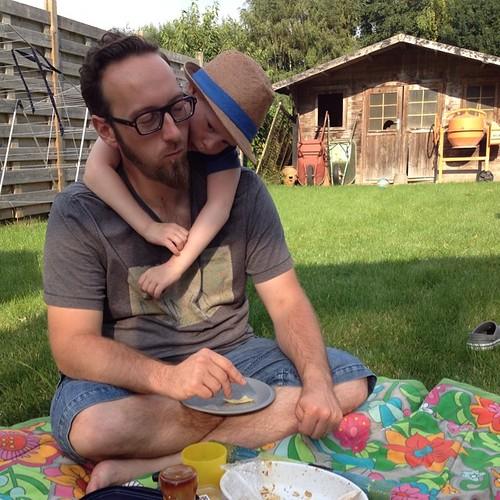 Dag 26: picnic in eigen tuin #dezomervan2014