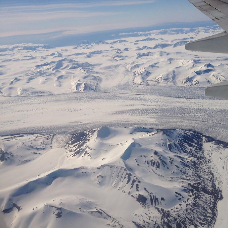 merging glaciers