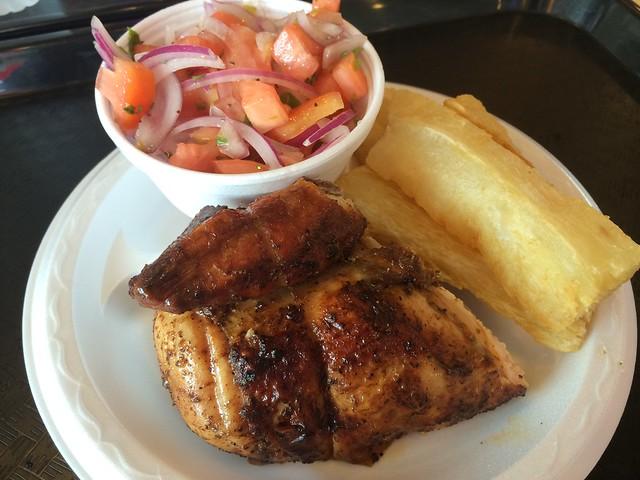 1/4 chicken (white meat) plate - El Pollon