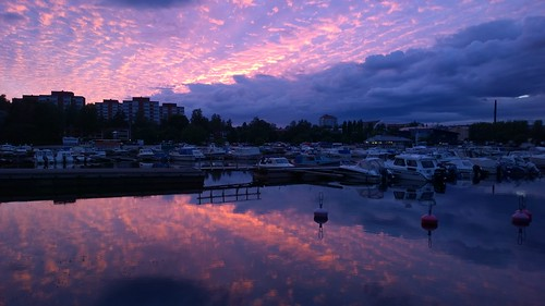 sunset summer reflection finland 1020 kotka lumia lumia1020