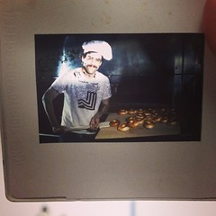 Slide found in the bagel archives - Mr. Feldman himself back in '79!