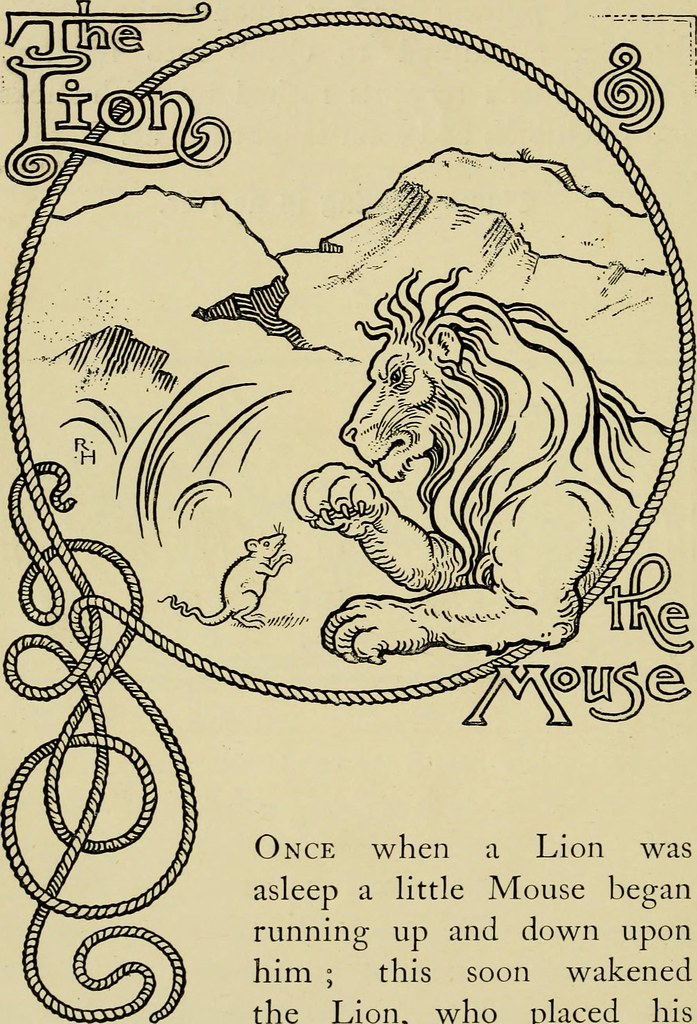 Image result for the lion and the mouse