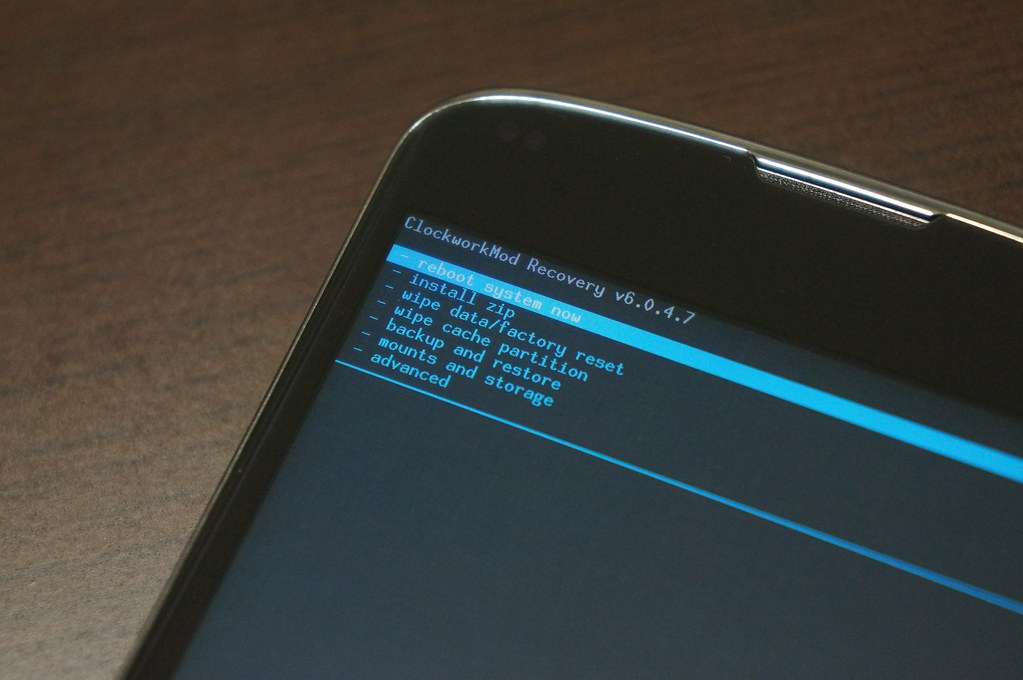 Android L Developer Previewをアップデートー最後に再起動してアップデートは完了