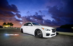 K3 Projekt Wheels | Jorges Infiniti Q50S on our IND-K37