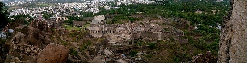 Golconda Fort Panaroma