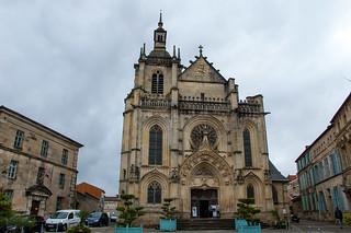 Visite de Bar le Duc - Église Saint-Étienne de Bar-le-Duc