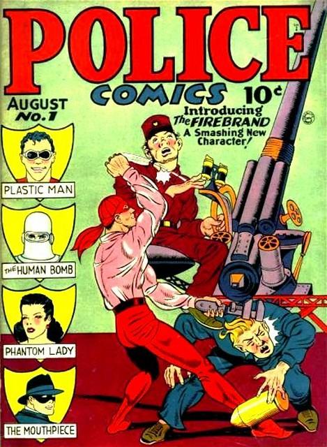 Plastic-Man Police Comics
