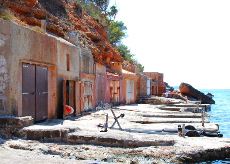 Ibiza fishing huts