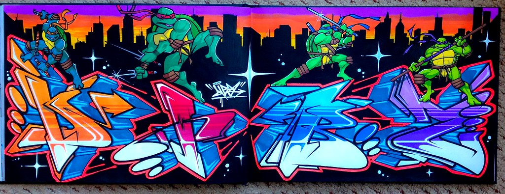 Thanks Mutant ninja turtle graffiti agree, this