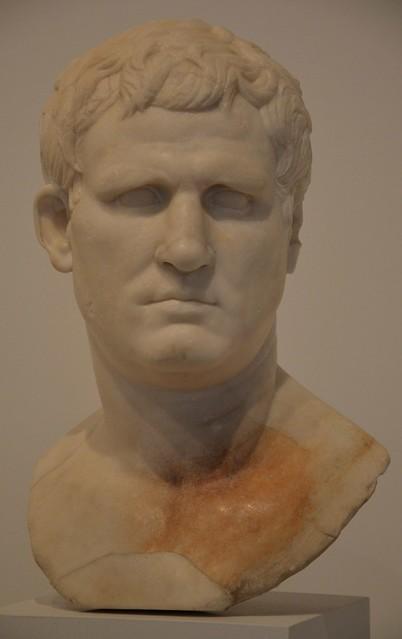 Portrait of M. Vipsanius Agrippa of the Gabii type, ca. 25–24 BC, from Gabii, Moi, Auguste, Empereur de Rome exhibition, Grand Palais, Paris