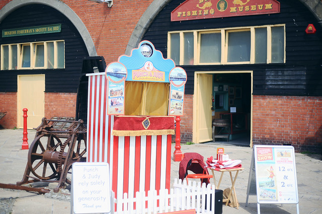 Punch and Judy Brighton Beach
