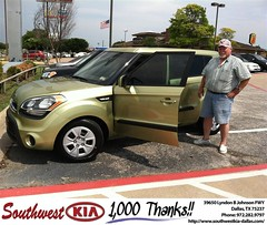 #HappyAnniversary to Charles Shearin on your 2013 new car  from Mercado Salvador   at Southwest Kia Dallas!