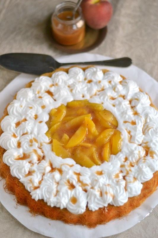 Peach Kunafa Image 2
