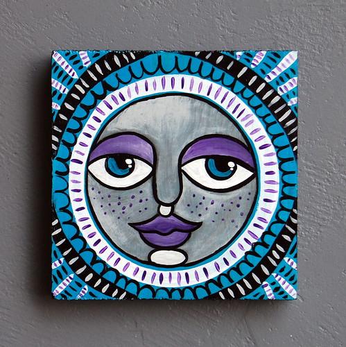Folk Art Moon