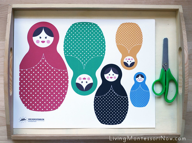 Russian Nesting Doll Craft