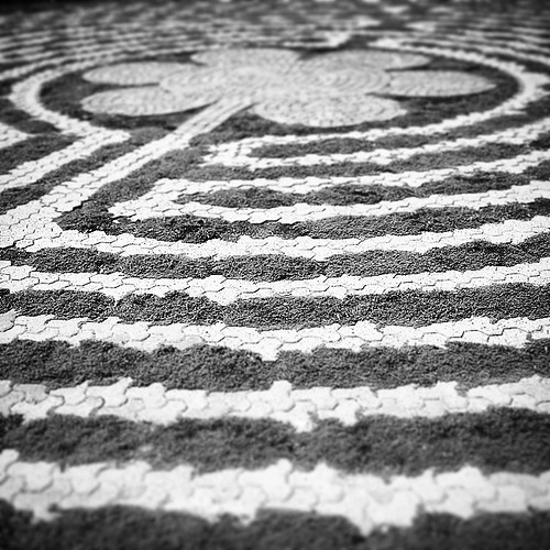 delightful discovery #labyrinth #zen #meditation #peace #circle #prayer #silversprings #yyc