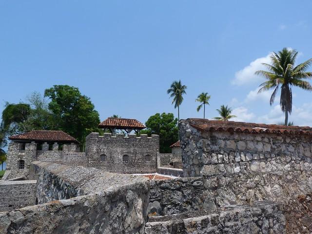 Castillo de San Felipe de Lara en Izabal (Guatemala)