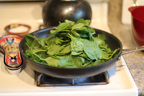Lots of spinach