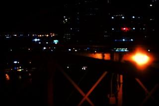 night on the Brooklyn Bridge