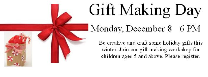 Gift Making Day 2014